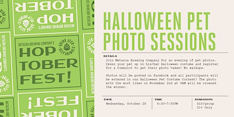 Halloween Pet Photo Sessions tickets