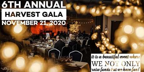 6th Annual Harvest Gala tickets