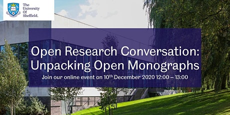 Open Research Conversation: Unpacking Open Monographs tickets