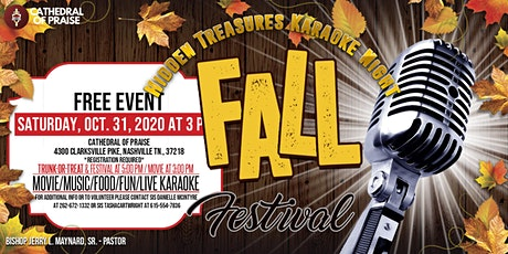 Hidden Treasures Karaoke Night Fall Festival tickets