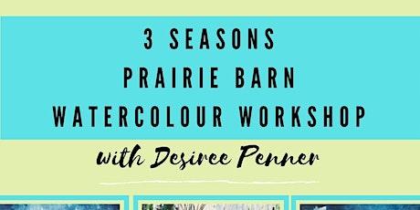 Workshop: Watercolour tickets