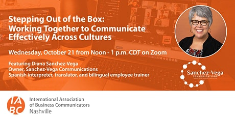 Working Together to Communicate Effectively Across Cultures tickets