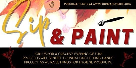 Sip N' Paint Fundraiser  2020 tickets