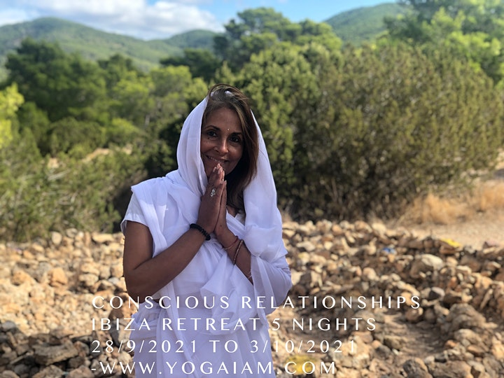 RELATIONSHIPS & DIFFICULT CONVERSATIONS 5 NIGHTS IBIZA RETREAT 28/9/2021 - image