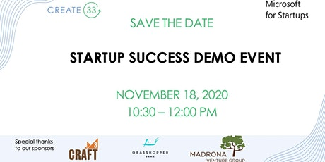 Startup Success Demo Event tickets