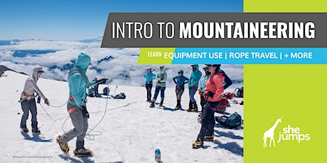 WA SheJumps Intro to Mountaineering Course: Ruth Glacier tickets