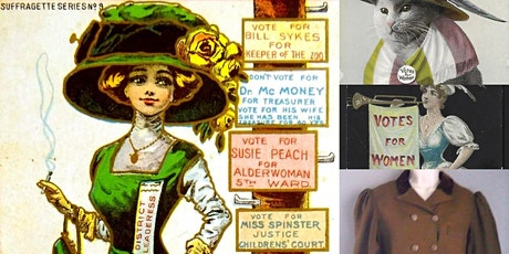 Women's Suffrage Antiques & Artifacts w/ The Museum of Interesting Things tickets