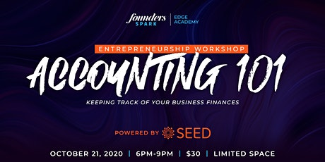 Edge Academy | Accounting 101 tickets
