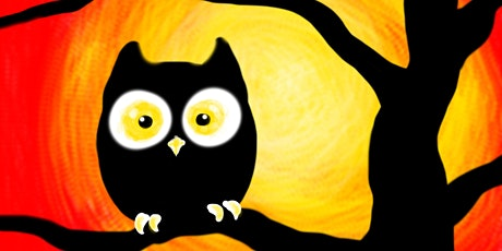 Halloween Family Paint Party: Spooky Owl! tickets