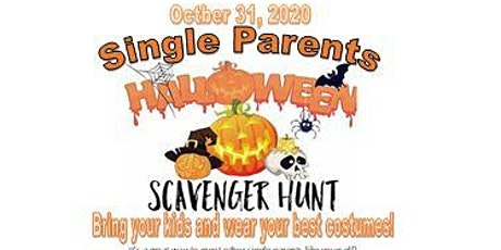 Single Parents Halloween Scavenger Hunt! tickets