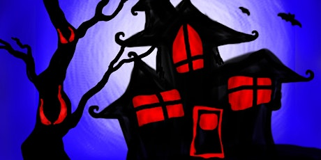 Halloween Family Paint Party: Haunted House! tickets