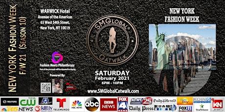 NEW YORK FASHION WEEK F/W 21 - February 13th 2021 tickets