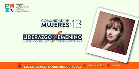 13a Comunidad Mujeres - Liderazgo Femenino hacia la certificación PMP entradas