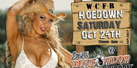 Bert's Black Widow Presents - WCFR HOEDOWN tickets