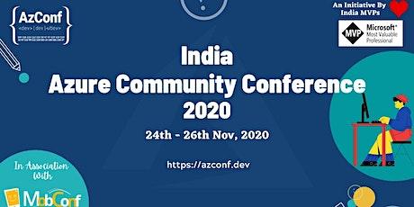 IndiaMicrosoftAzure Community Conference-2020 tickets