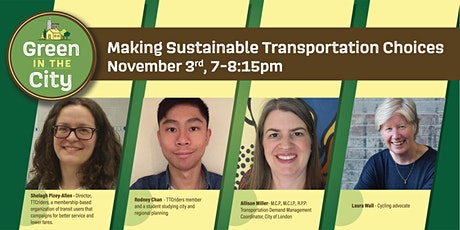 Green in the City: Making Sustainable Transportation Choices tickets