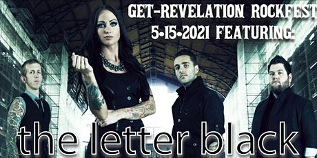 The Letter Black LIVE! at Get-Revelation Rockfest 20/21 tickets
