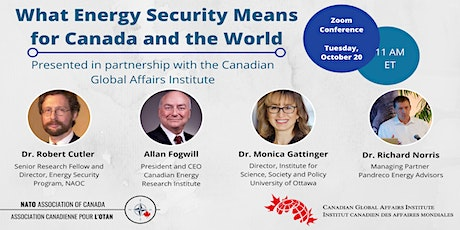 What Energy Security Means For Canada and the World tickets