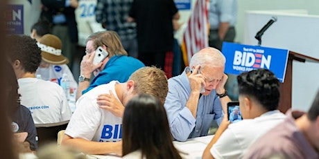 MARIN- BIDEN 4 CHANGE GET OUT THE VOTE PHONE BANK, TUES., NOV. 3, 9-11:30PM tickets