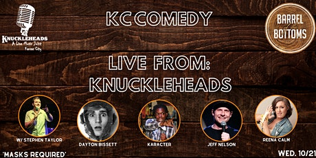 KC Comedy: Reena Calm Live from Knuckleheads tickets