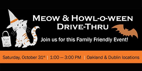 East Bay SPCA's Meow & Howl-0-Ween Drive-Thru tickets