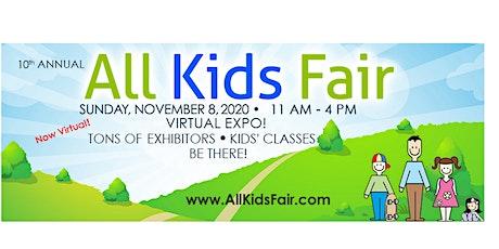 All Kids Fair virtual expo tickets