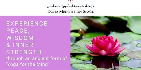 Raja yoga meditation  course tickets