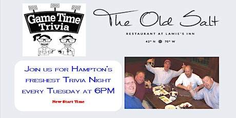 Game Time Trivia at the Old Salt tickets