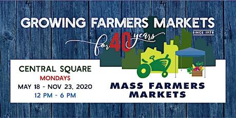 [October 26, 2020]  - Central Sq Farmers Market Shopper Reservation tickets