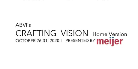 Crafting Vision 2020 - The Home Version tickets