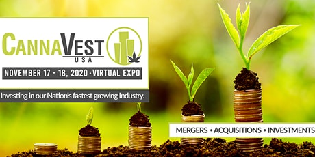 CannaVest USA  . VIRTUAL EXPO . Nov. 17-18, 2020 tickets