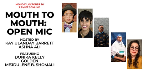 Mouth to Mouth: Open Mic tickets