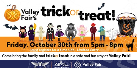 Valley Fair Trick Or Treat tickets