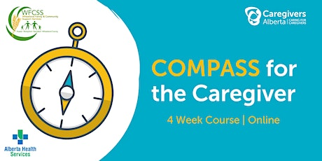 Wheatland FCSS: COMPASS for the Caregiver tickets