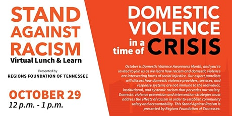 Stand Against Racism: Domestic Violence in a Time of Crisis tickets