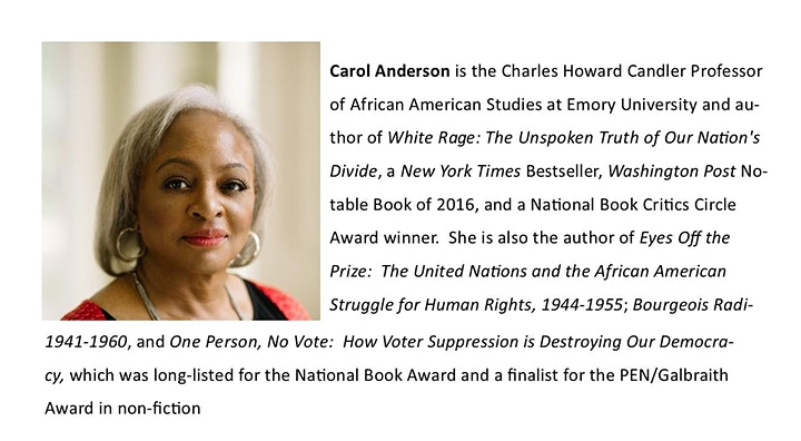 An Interview with Dr. Carol Anderson image