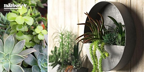 Succulent Wall Planter tickets