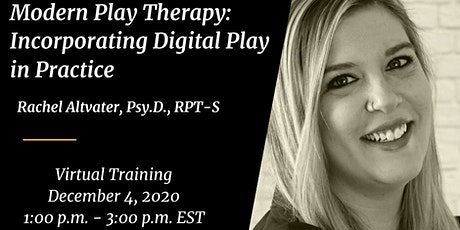 Modern Play Therapy: Incorporating Digital Play in Practice tickets