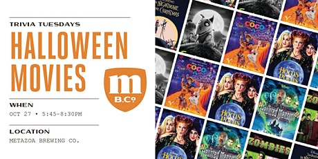 Halloween Movies Trivia tickets