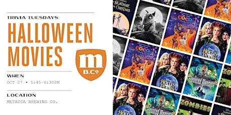 Halloween Movies Trivia tickets