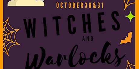 Witches and Warlocks pop up market tickets
