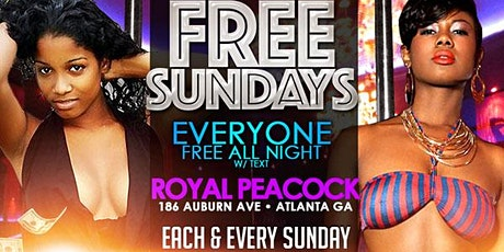 FREE SUNDAYS ($200 TwerkOff) tickets