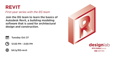 Revit, with the EG Team tickets