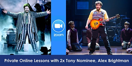 Private Online Lessons with 2x Tony Nominee, Alex Brightman tickets