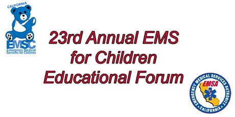 23rd Annual EMS for Children Educational Forum - Virtual tickets