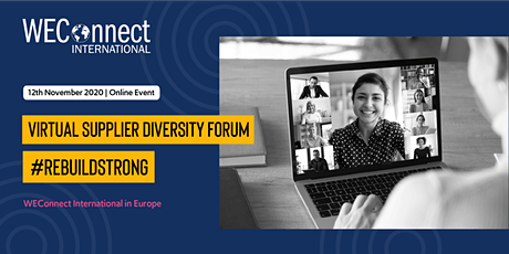 WEConnect International Europe Virtual Supplier Diversity Forum 2020 tickets