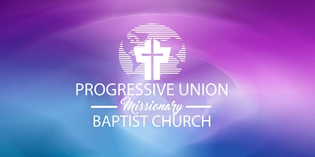 Registration for PUMBC In-Person Worship Service tickets