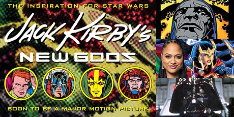 '50th Anniversary Retrospective of Jack Kirby's New Gods' Webinar tickets
