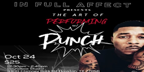 InFullAffect Presents Hip Hop and Performance workshop with Punch tickets