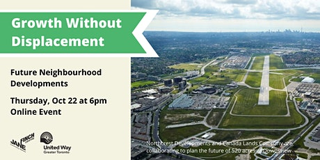 Growth Without Displacement: Future Neighbourhood Developments tickets